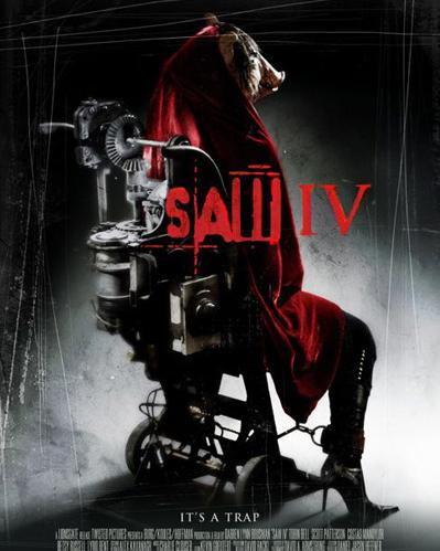 SAW IV (saw 4) movie poster